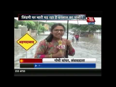 Heavy Rains Continue In Gujarat; Highways, Roads Washed Away