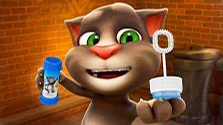 Говорящий кот ТОМ гладит одежду! Серия 3! Дети в восторге