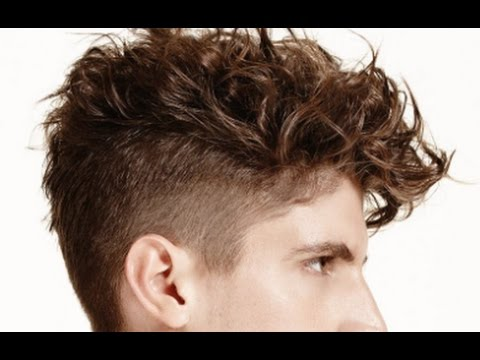 Mens Undercut Fade Curly Hair , YouTube