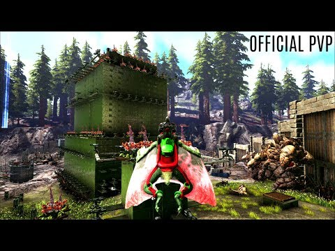 FULL BASE TOUR (Beta Tribe) - Official PVP (E139) - ARK Survival