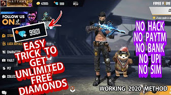 Diamond Hack Free Fire In Tamil 100 Working Youtube