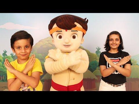 Fun Day With Chhota Bheem Ft. Aayu And Pihu Show | #MastiDostiKungFu