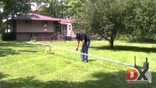 DX Engineering Tilt Base with a 43 Foot Vertical Antenna