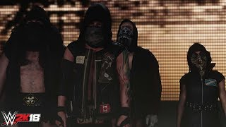 WWE 2K18 - Eric Young & SAnitY Entrance