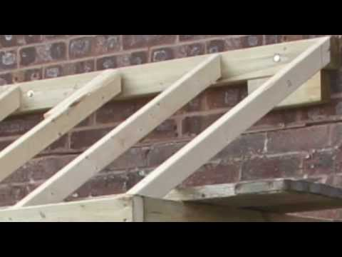 How to do a small pitched roof - YouTube