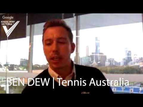 Andy Hair Interviewed Ben Dew Tennis Australia