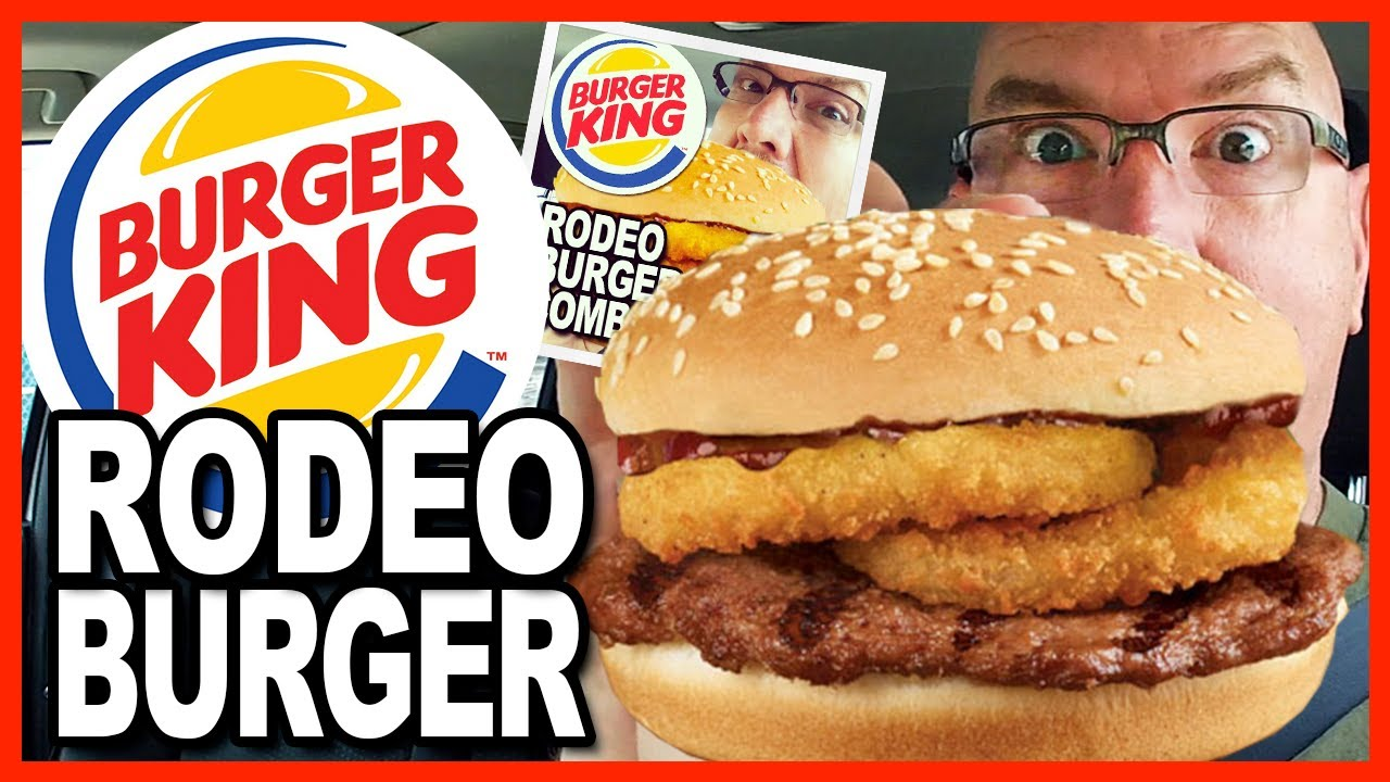 Burger King ???????? Rodeo Burger ???????? Combo Review & Drive Thru Test