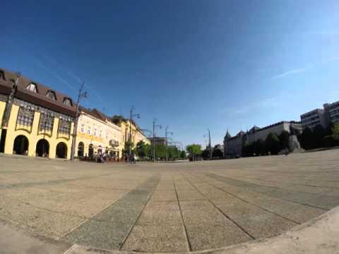 Praça de Debrecen - Time-Lapse