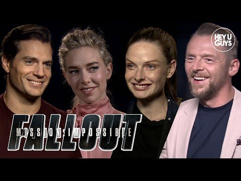 Mission Impossible Fallout Cast s  Henry Cavill, Simon Pegg, Vanessa Kirby