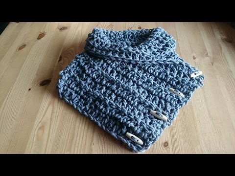 Nekwarmer Colsjaal Haken Tutorial Nederlands Youtube