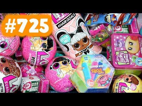 Random Blind Bag Box #725 - LOL Surprise Hairgoals, Little Lucky Lunchbox, Transformers BotBots