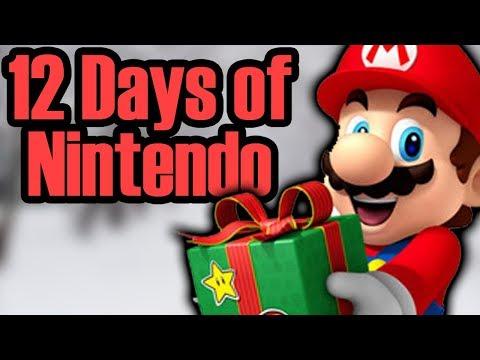 12 Days of Nintendo 2017 Parody of 12 Days of Christmas