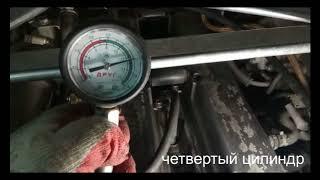 Компрессия 1JZ GTE TT после раскоксовки ЛАВР