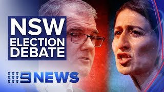 Liberal Premier and Labor leader go head to head | Nine News Australia