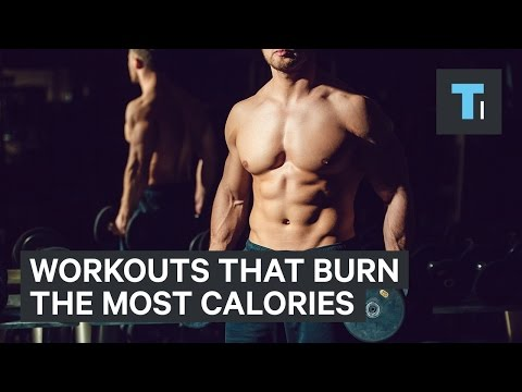 The 5 workouts that burn the most calories in an hour