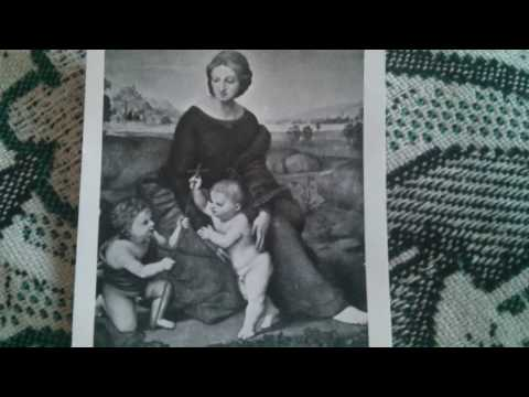 Raphael paintings Madonna of the Meadow - Madonna del Prato *