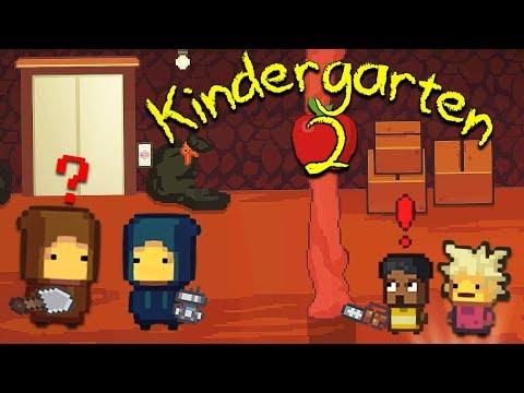 MYSTERY KIDS HID INSIDE OF NEW NUGGET CAVE TO FIND THE SCHOOL'S DARK SECRETS | Kindergarten 2 [8]