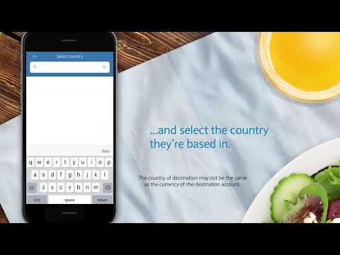 The Barclays App | How To Make An International Payment