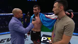 UFC 257: Makhmud Muradov Octagon Interview