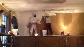 白漆喰塗り(安積歴史博物館)【八光建設 福島】