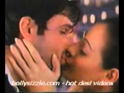 Dia Mirza Hot Kiss