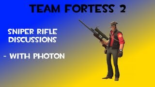 TF2 Commentary - Best Sniper Rifle? Sniper Badwater