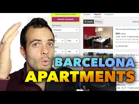 RENTING AN APARTMENT IN BARCELONA - LIVING IN SPAIN #171