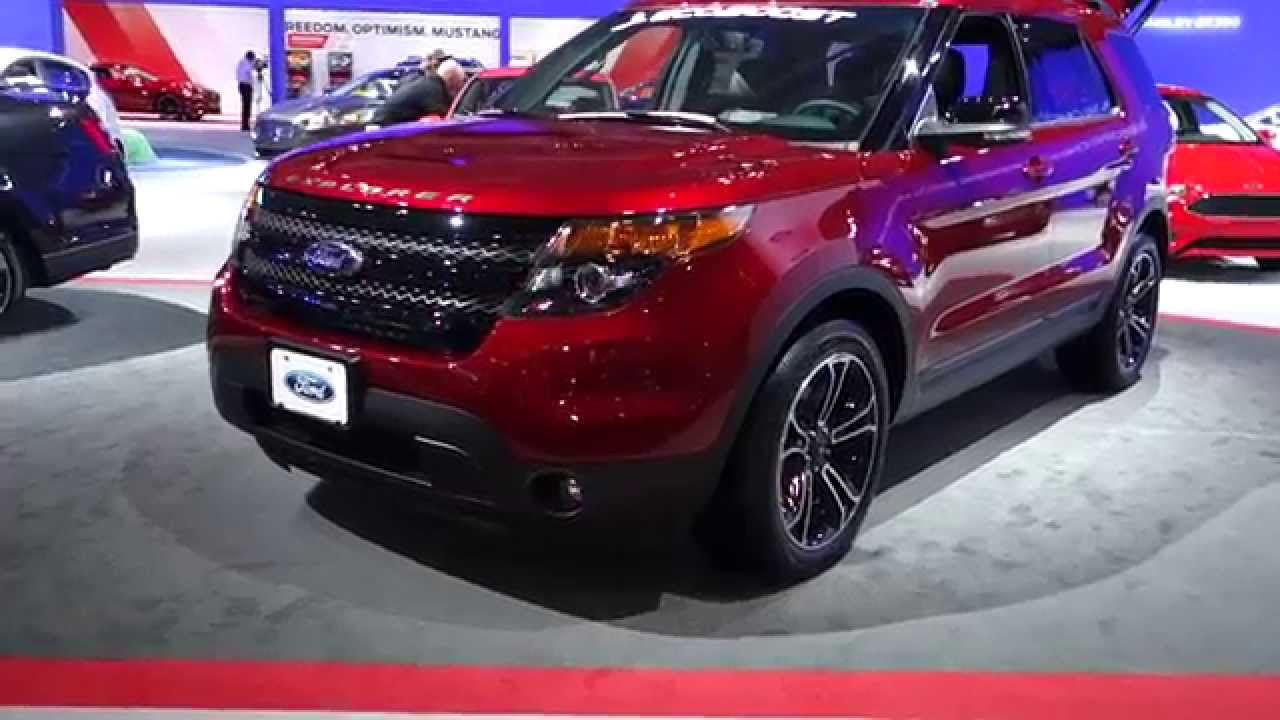2015 Ford Explorer Sport At The 2015 Washington Auto Show