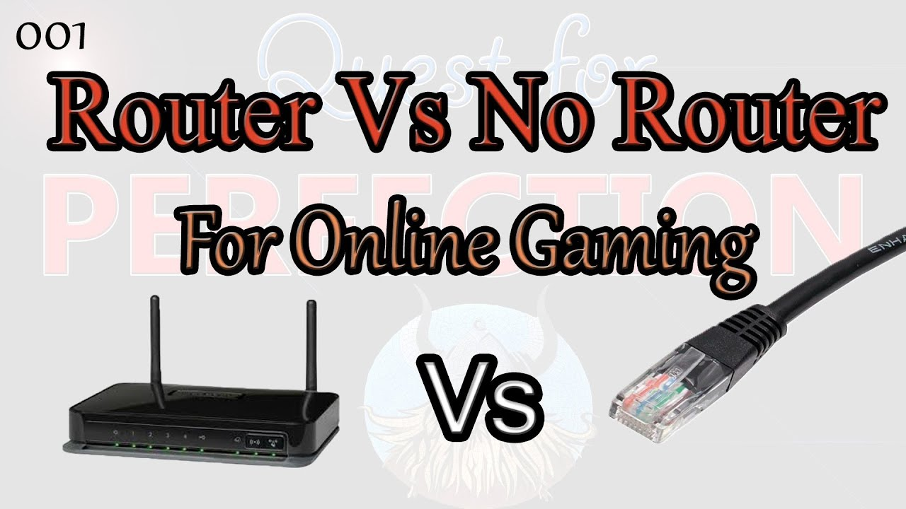 QFP/001 - Router Vs No Router for Gaming (Pings & Frame Latency Testing)