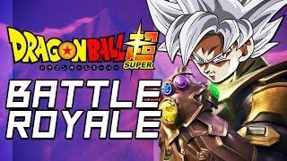 A DRAGON BALL BATTLE ROYALE GAME?!