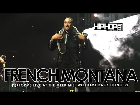 Meek Mill Brings Out French Montana At His Welcome Back Concert (3/21/15)