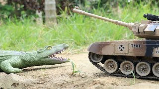 Crocodile vs Tank |   A lot of Cars Toys for Kids Video for Children