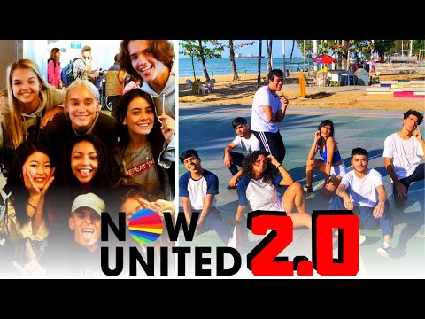 ACHEI O NOW UNITED 2.0 - UNIO PROJECT (react)