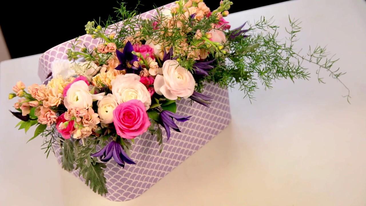 Tutorial Realizare Aranjament Floral Surpriza By Atelierele Ilbah
