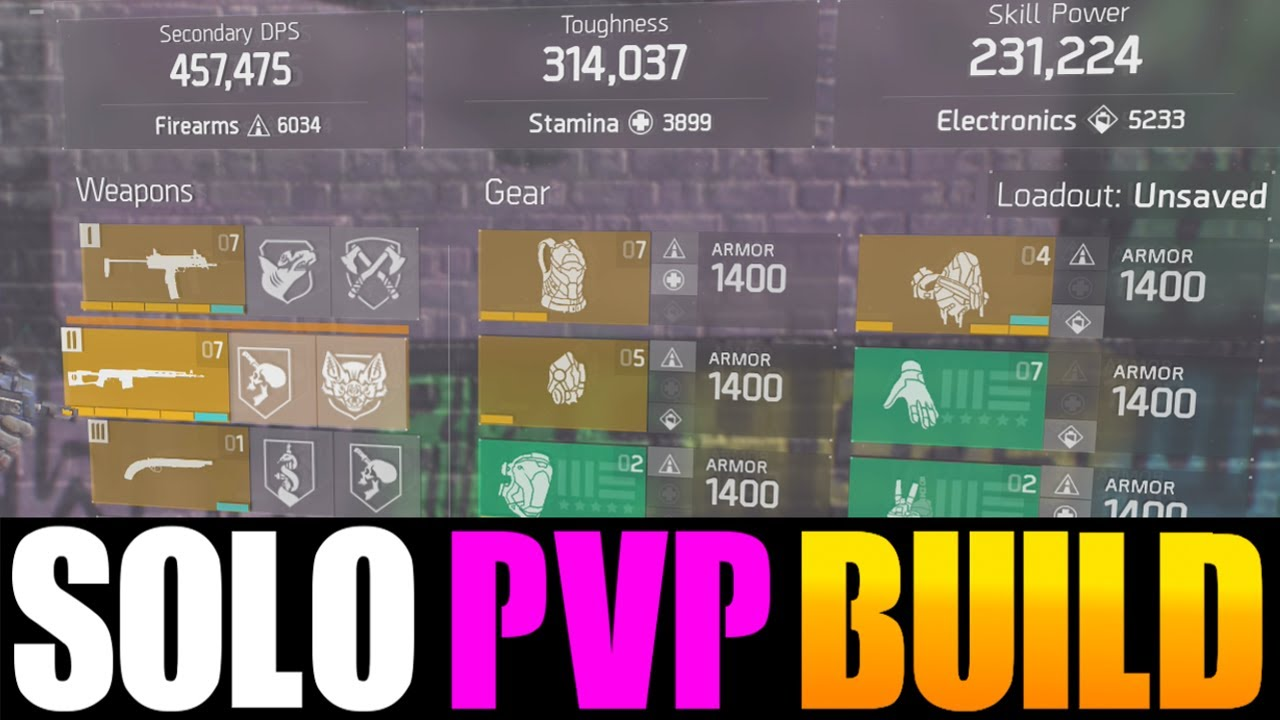 The Division   Skill Power Build