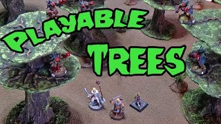 Crafting Trees For Table Top Playability (dm's Craft Next #12/part 1)
