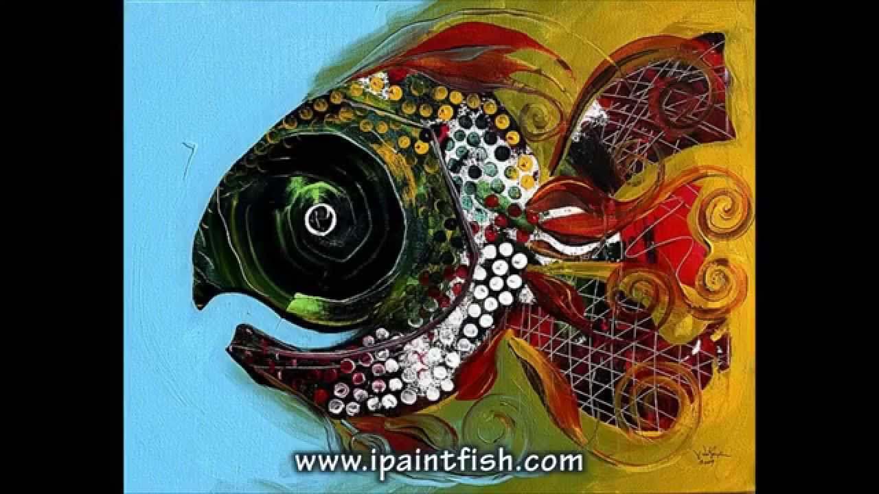 fish art u0026 fish paintings by j vincent scarpace 2 modern