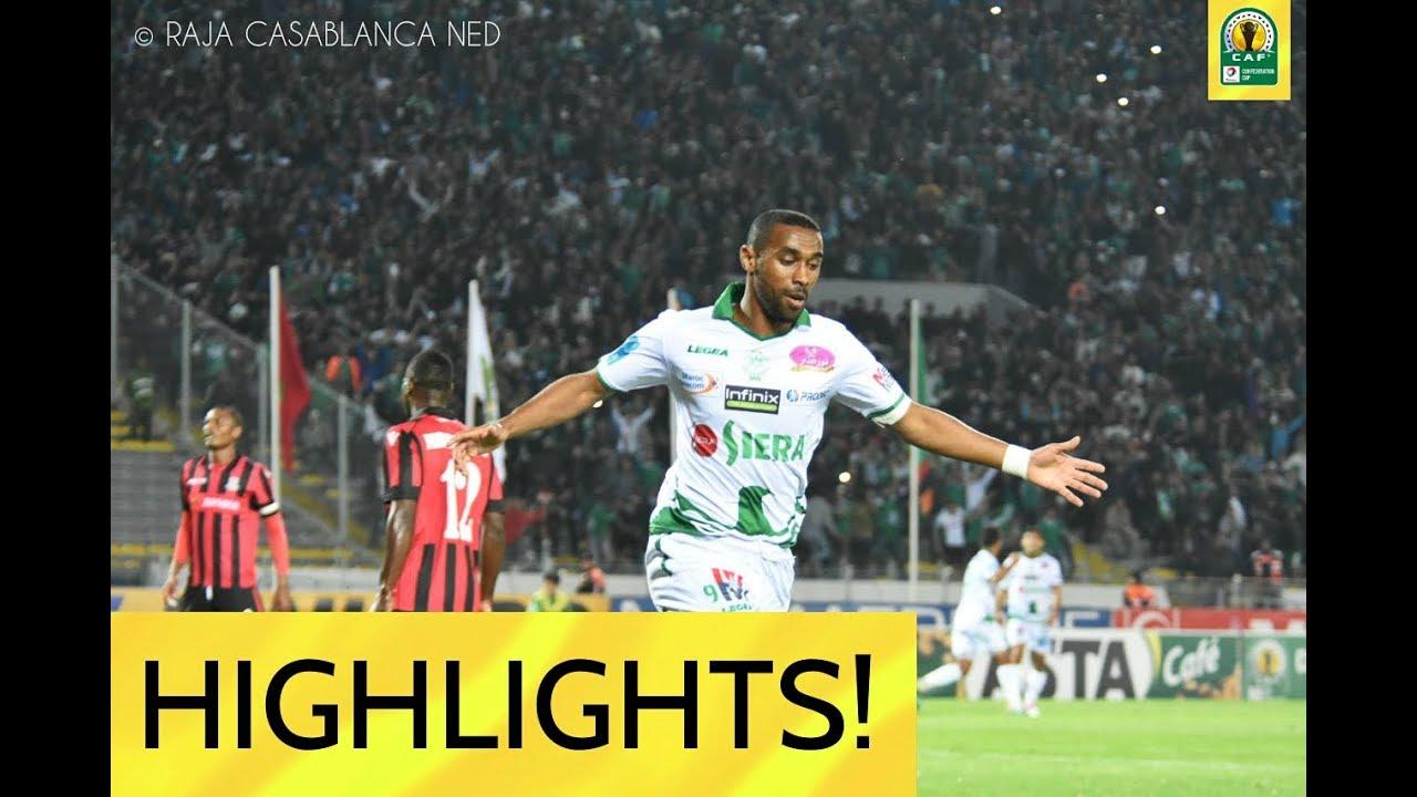 Download RAJA CASABLANCA vs ZANACO FC 3-0 ● All Goals HD ●  CAF Confederation Cup ● 19 April 2018