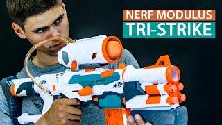 Nerf Modulus Tri-Strike - Potrójne combo mocy! - recenzja nerfoteka.pl i poszukiwaczefrajdy.pl