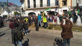 Incidentes complican la manifestación de agricultores en Mérida