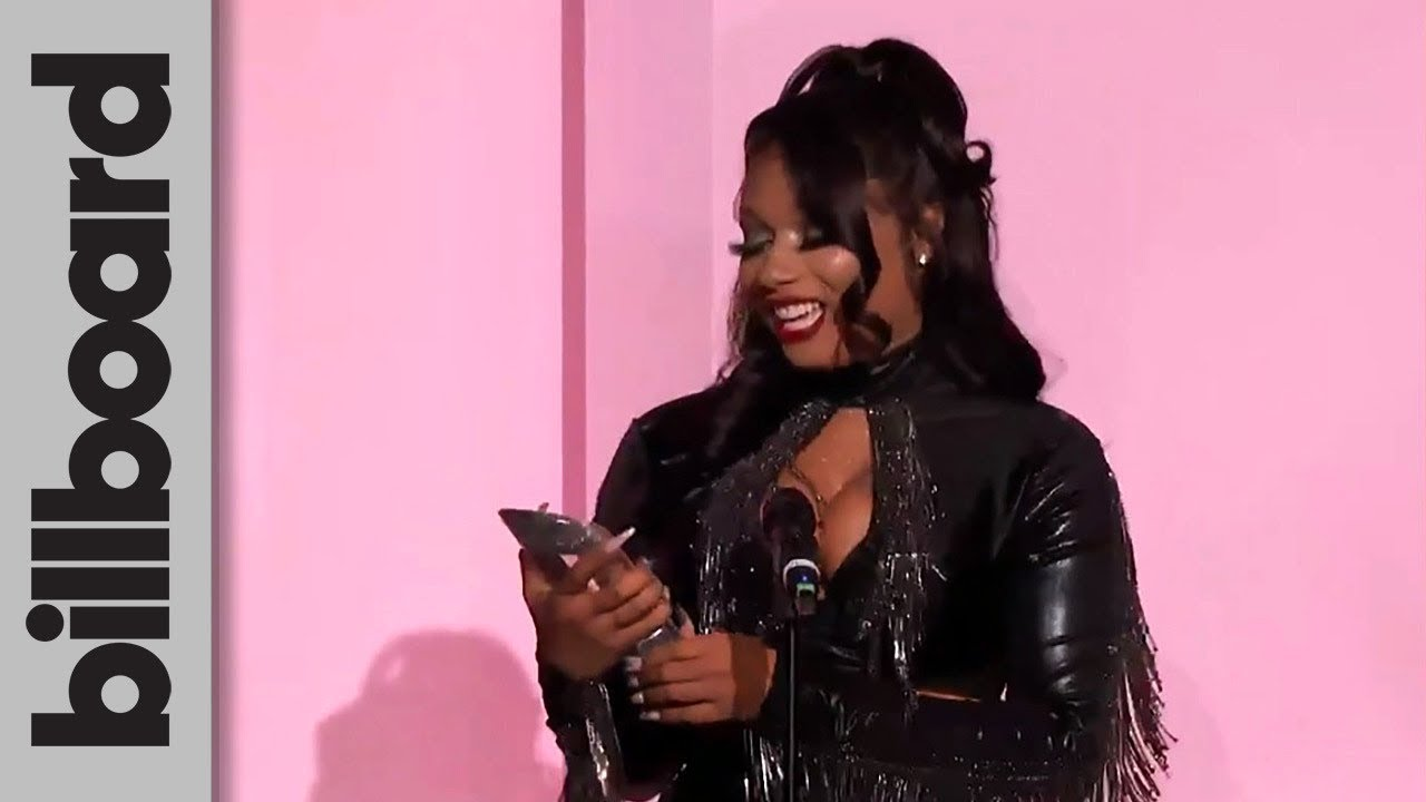 Megan Thee Stallion Accepts Powerhouse Award After Taking Her ...