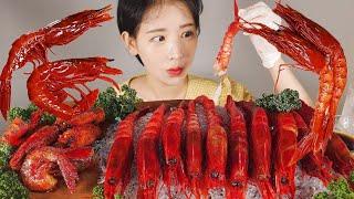 세상에서 가장 비싼 새우 카라비네로 새우 먹방 Carabinero Shrimp  [eating show]mukbang korean food