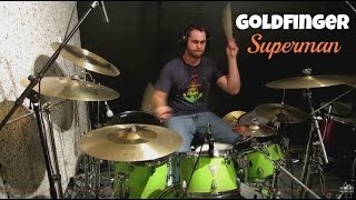 Daniel Blume - Goldfinger - Superman -- Drum Cover