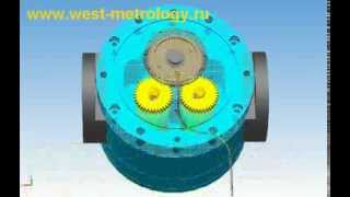 Принцип действия ролико-лопастного расходомера НОРД-О(, 2011-05-29T18:01:00.000Z)