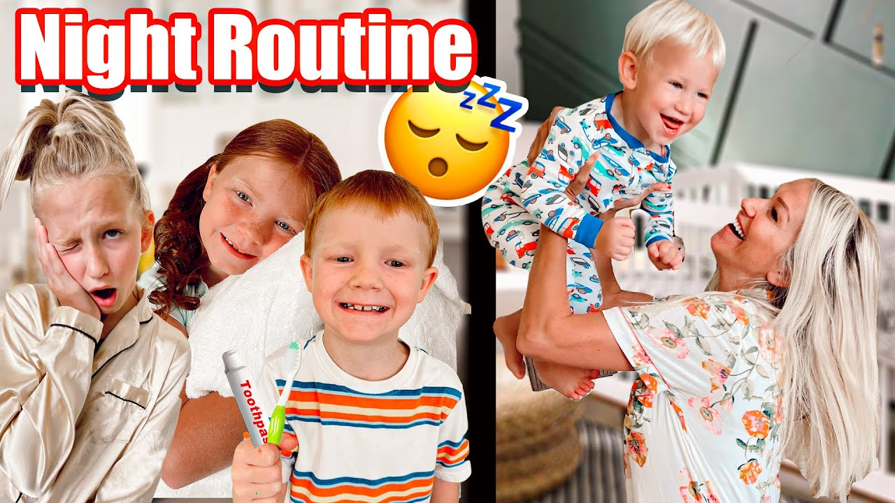 MOM of 16 KiDS BEDTiME ROUTiNE!