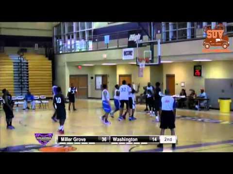 Miller Grove Shot Clock League: Miller Grove vs. Washington