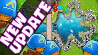 Bloons TD Battles :: NEW UPDATE GAMEPLAY :: THESE BLOONS ARE FAST!!! NEW MAPS :: BTD BATTLES