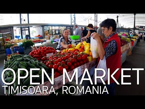 Market in Timisoara Romania |  Questions and Answers