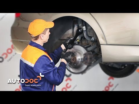 How to replac rear suspension arm BMW 3 E90 TUTORIAL   AUTODOC