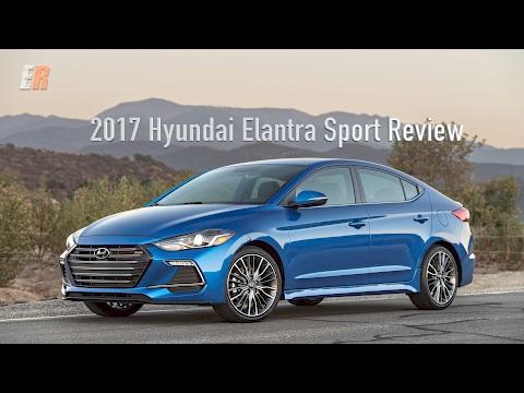 2017 Hyundai Elantra Sport Review Look out Honda Civic